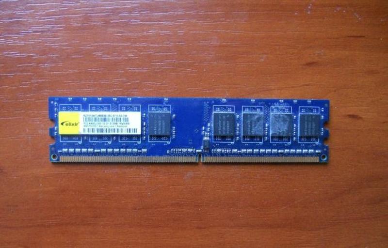 Оперативная память DDR2 512 mb Elixir