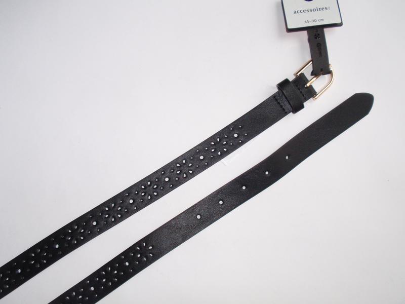 Ремень женский с перфорацией эко кожа бренд accessoires c&a ге... - Фото 2
