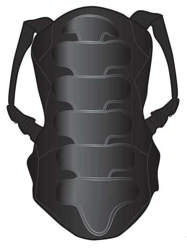 Защита спины для экстремальных видов спорта Destroyer DSRP-111