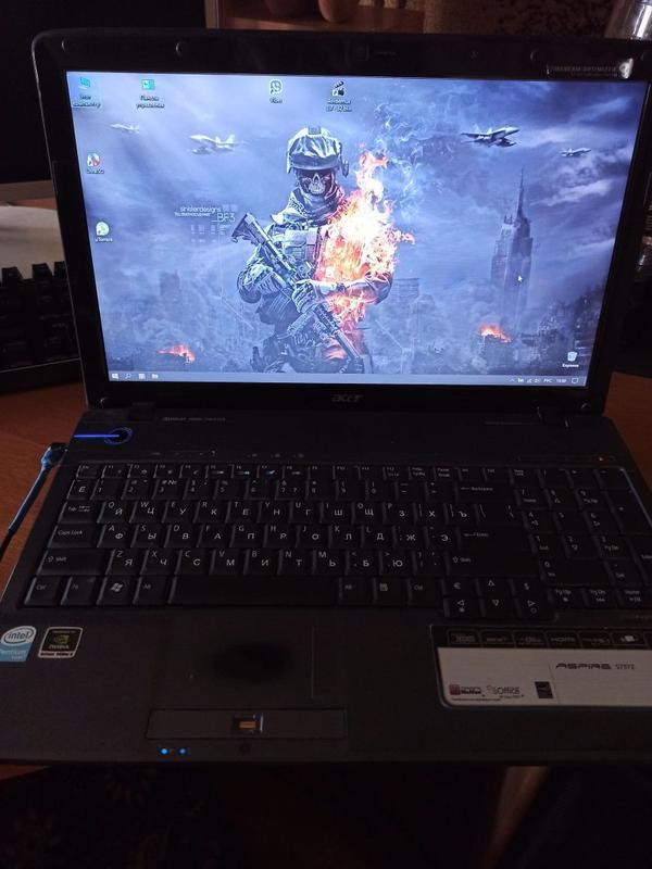Ноутбук Acer aspire 5737z