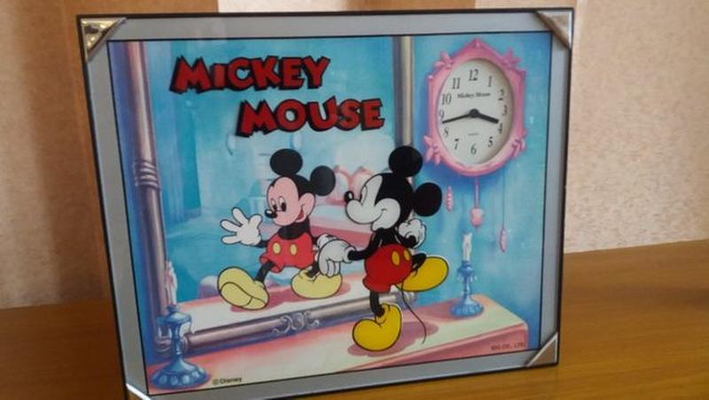 Часы Микки Маус
