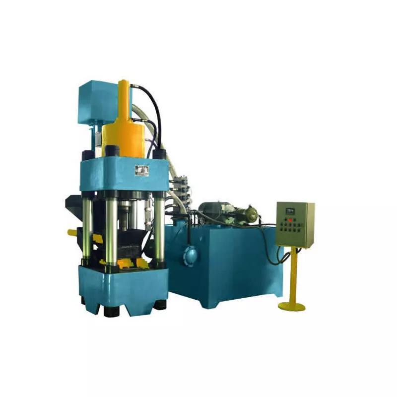 Пресс брикетировочный бу для стружки и отходов металла