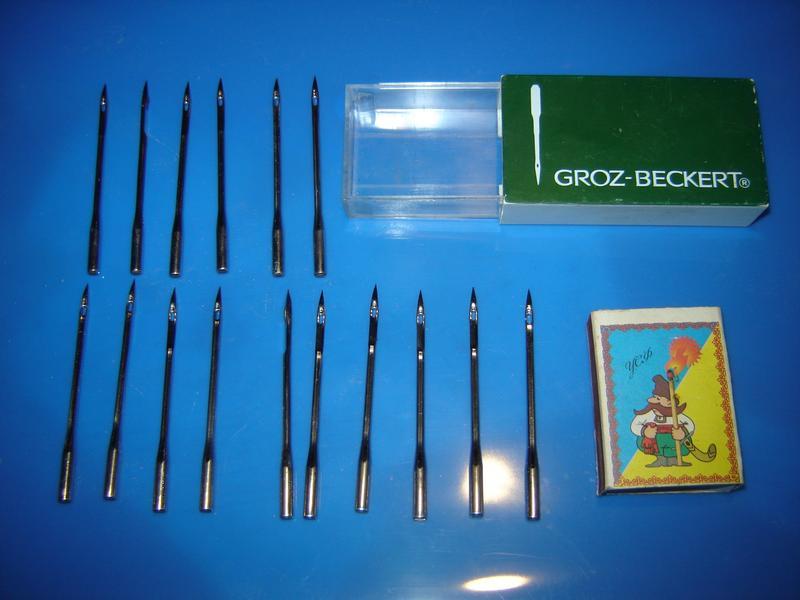 16 шт. игл GROZ-BECKTRT для промышленной швейной машины по коже - Фото 2