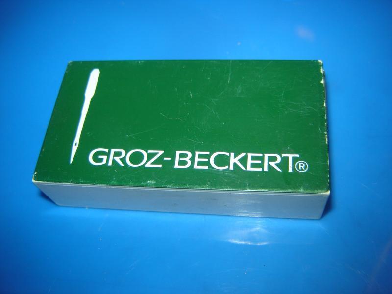 16 шт. игл GROZ-BECKTRT для промышленной швейной машины по коже - Фото 7