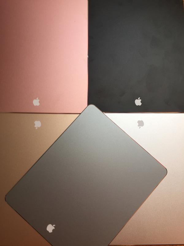 Алюминий коврик для мышки iMac Macbook стиль Aplle с логотипом - Фото 3