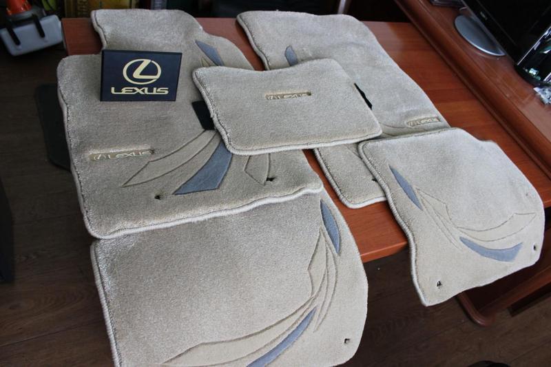 Новые фирменные коврики на Лексус Lexus IS - Фото 5