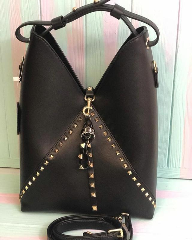 Модная кожаная сумка (италия)
