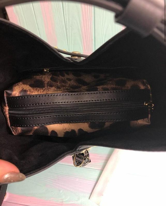 Модная кожаная сумка (италия) - Фото 3
