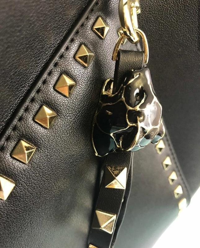 Модная кожаная сумка (италия) - Фото 4