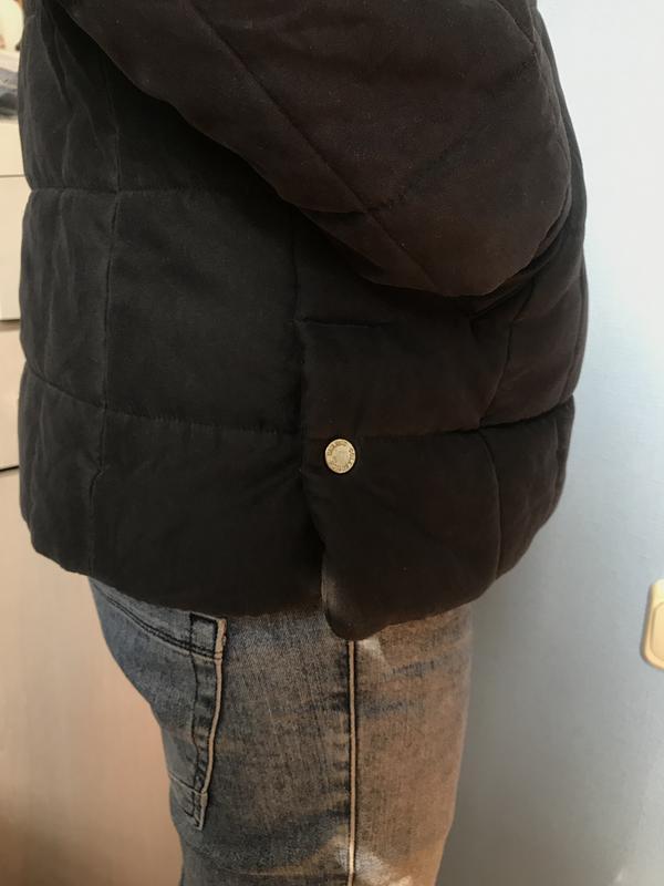 Курточка мужская осеняя чёрная стёганая размер с - Фото 2
