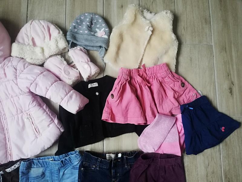 Пакет фірмового одягу,пакет речей для дівчинки