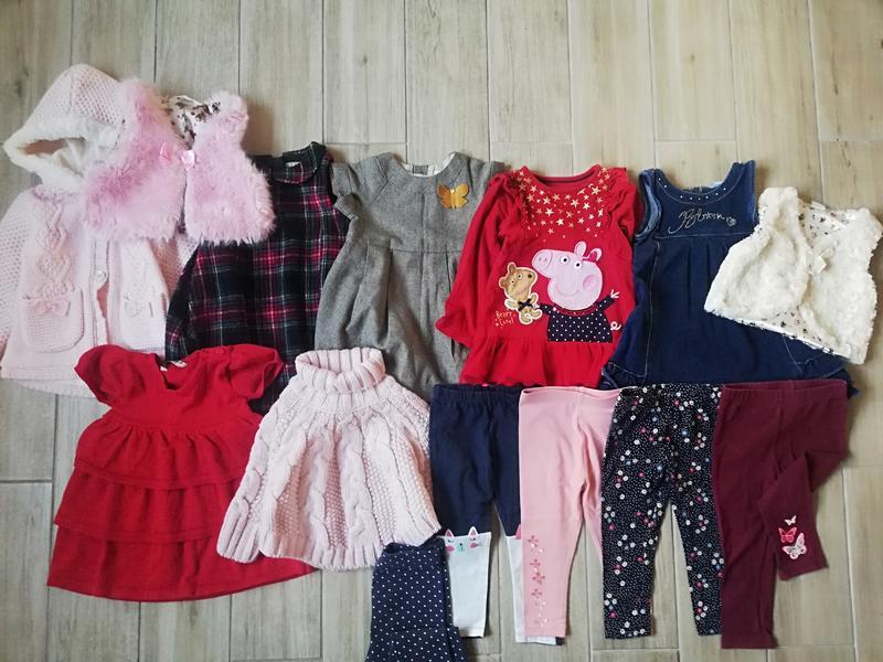 Пакет фірмового одягу,пакет вещей 1,5-2 роки