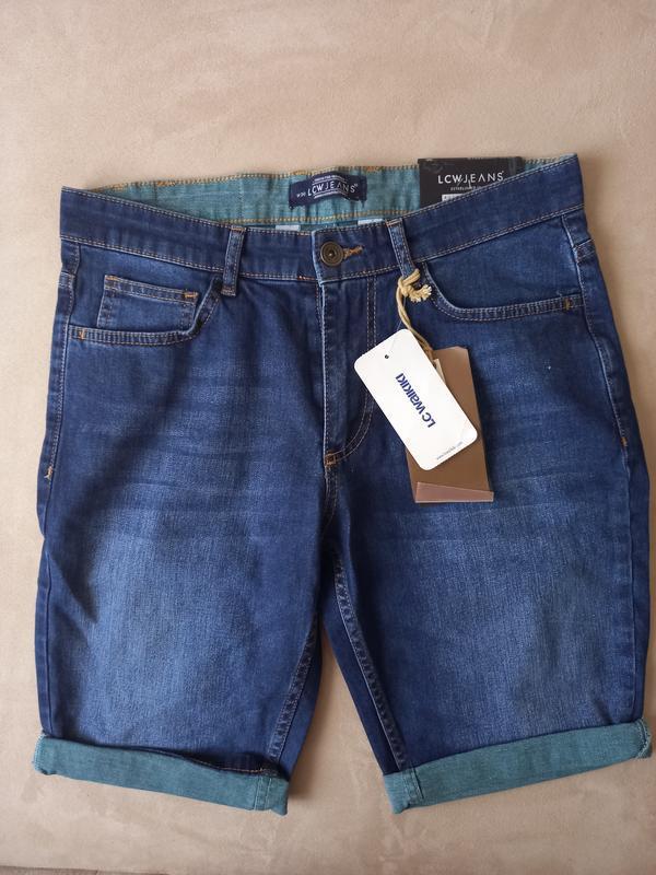 Бриджи джинсовые мужские
