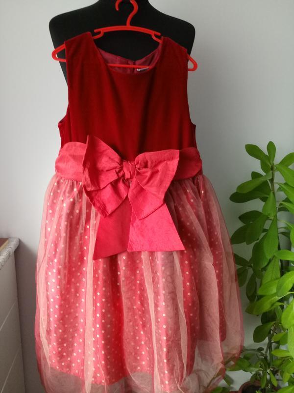 Роскошное велюровое платье от tu