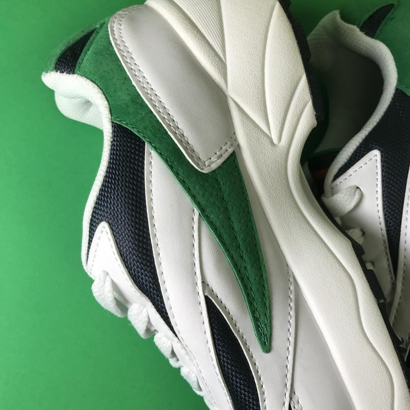 Кроссовки:fila venom white green. - Фото 9