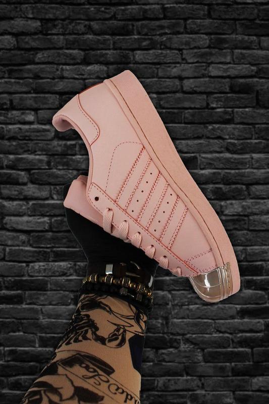 Кроссовки: adidas superstar pink gold - Фото 2