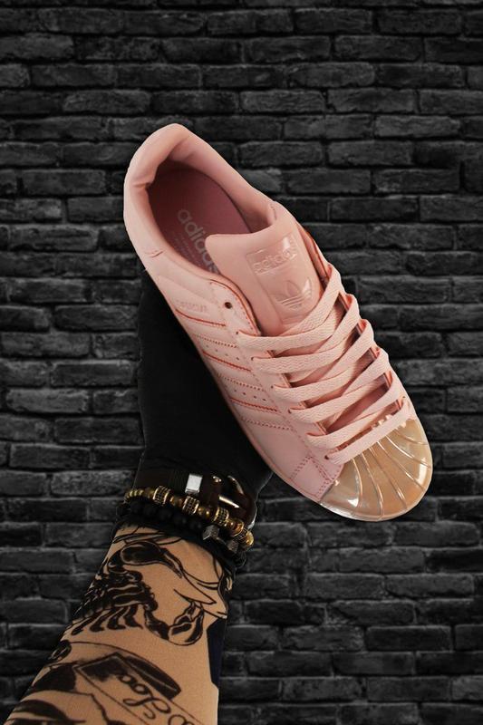 Кроссовки: adidas superstar pink gold - Фото 3