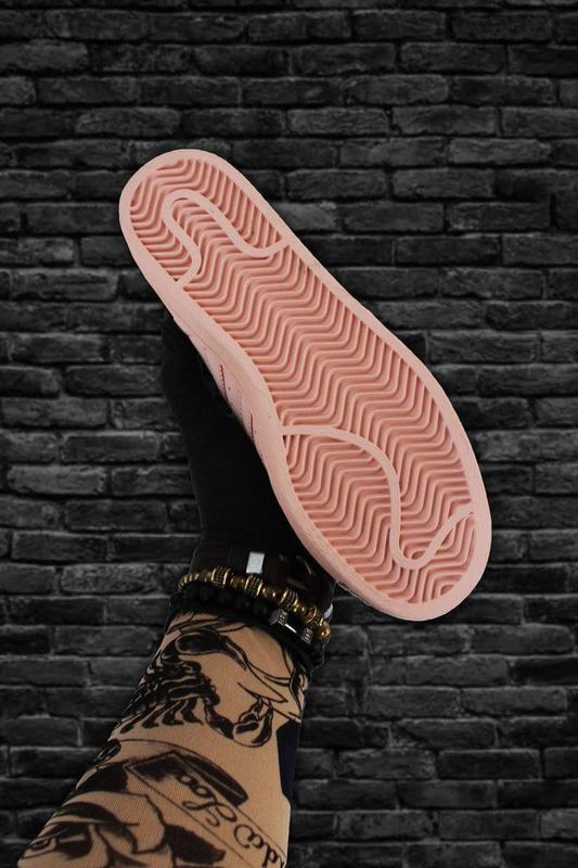 Кроссовки: adidas superstar pink gold - Фото 4