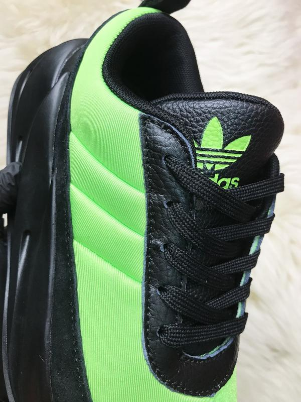 Кроссовки: adidas sharks green black. - Фото 4