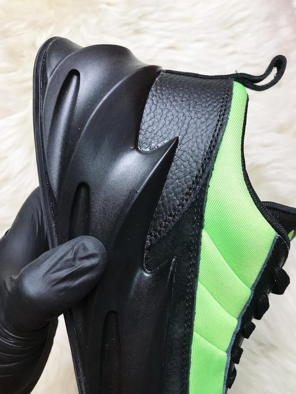 Кроссовки: adidas sharks green black. - Фото 6
