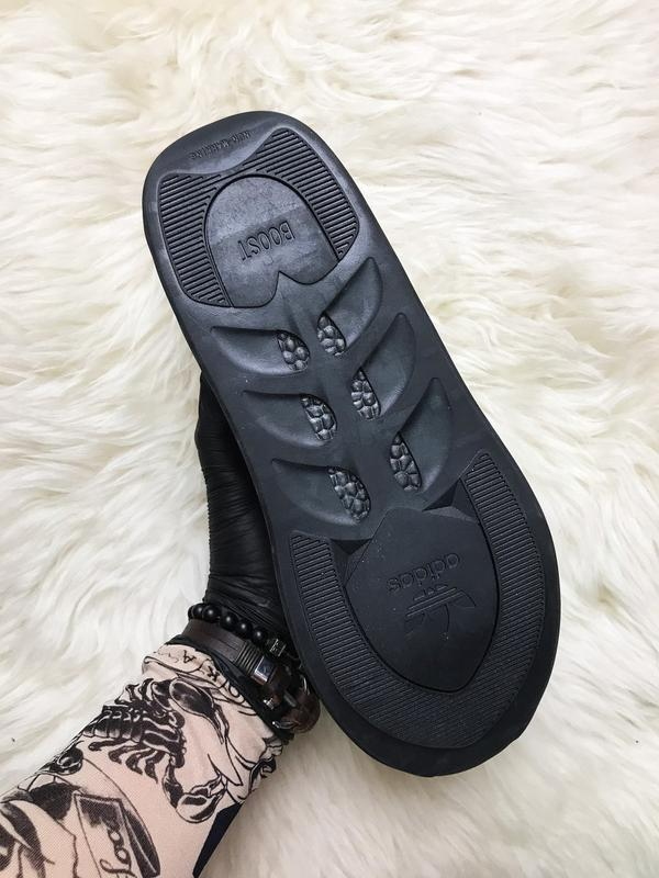 Кроссовки: adidas sharks green black. - Фото 7