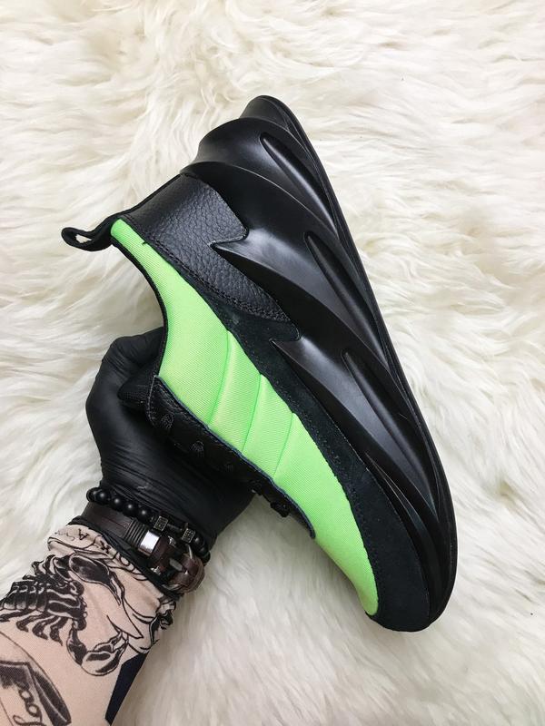 Кроссовки: adidas sharks green black. - Фото 8