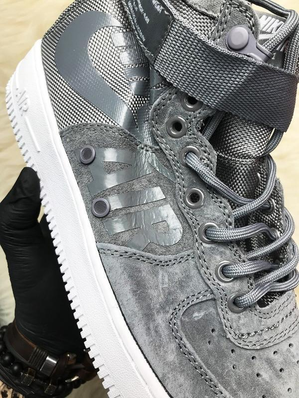Nike air force special field gray - Фото 2