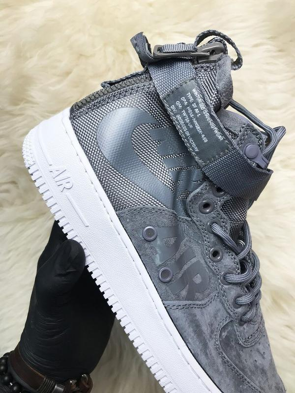 Nike air force special field gray - Фото 3