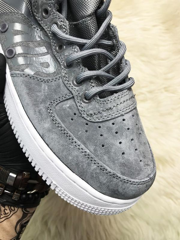 Nike air force special field gray - Фото 9