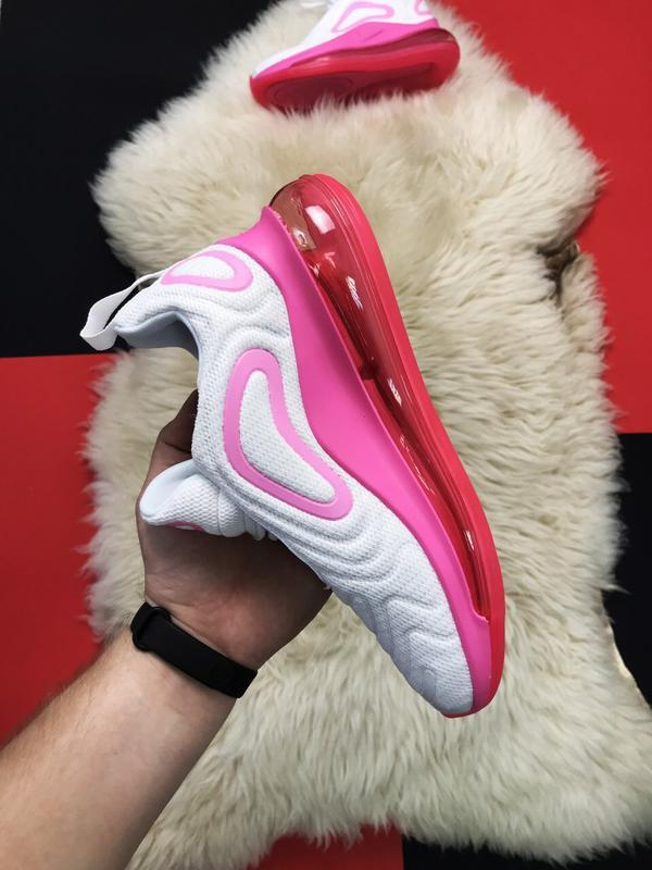 Nike air max 720 pink white. - Фото 6