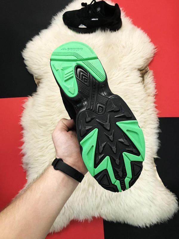 Adidas falcon black fure. - Фото 8