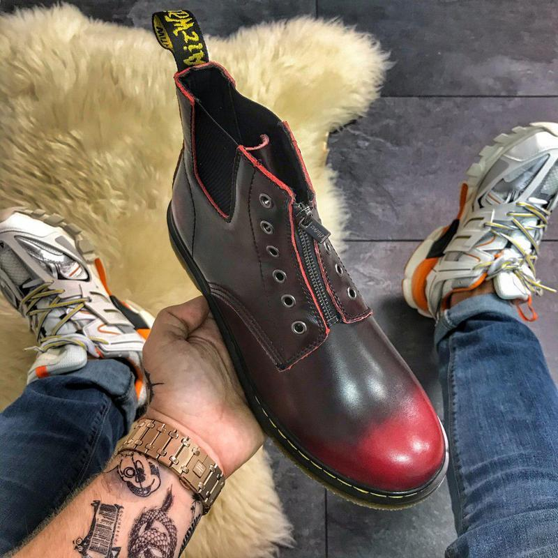 Dr martens gusset red. - Фото 2