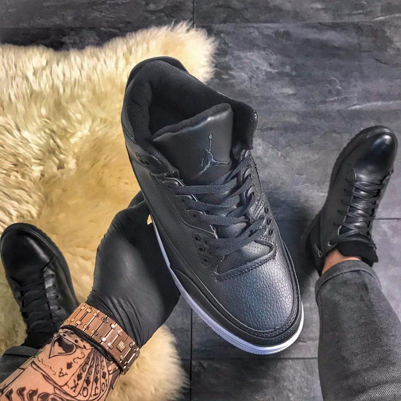 Nike air jordan 4 retro black. - Фото 2