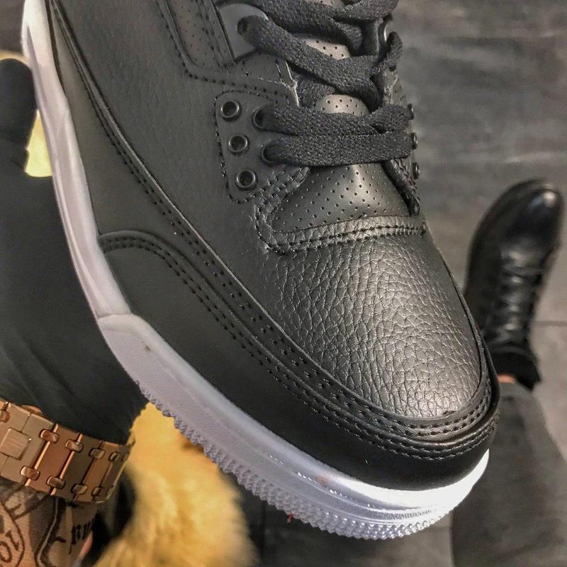 Nike air jordan 4 retro black. - Фото 3