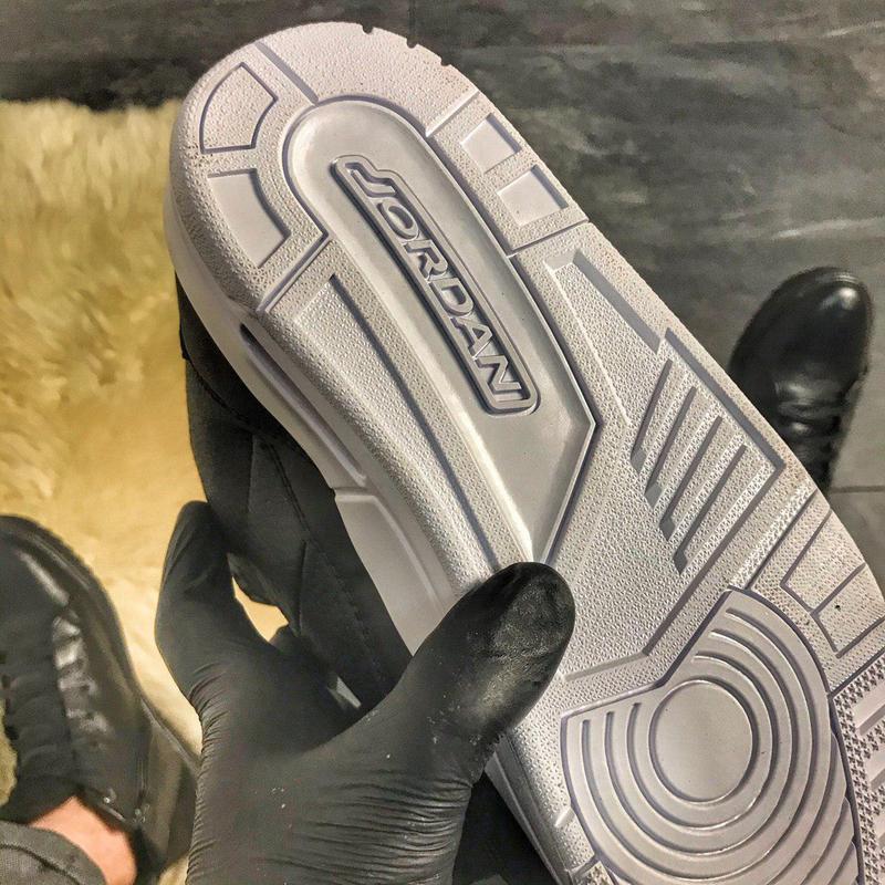 Nike air jordan 4 retro black. - Фото 5