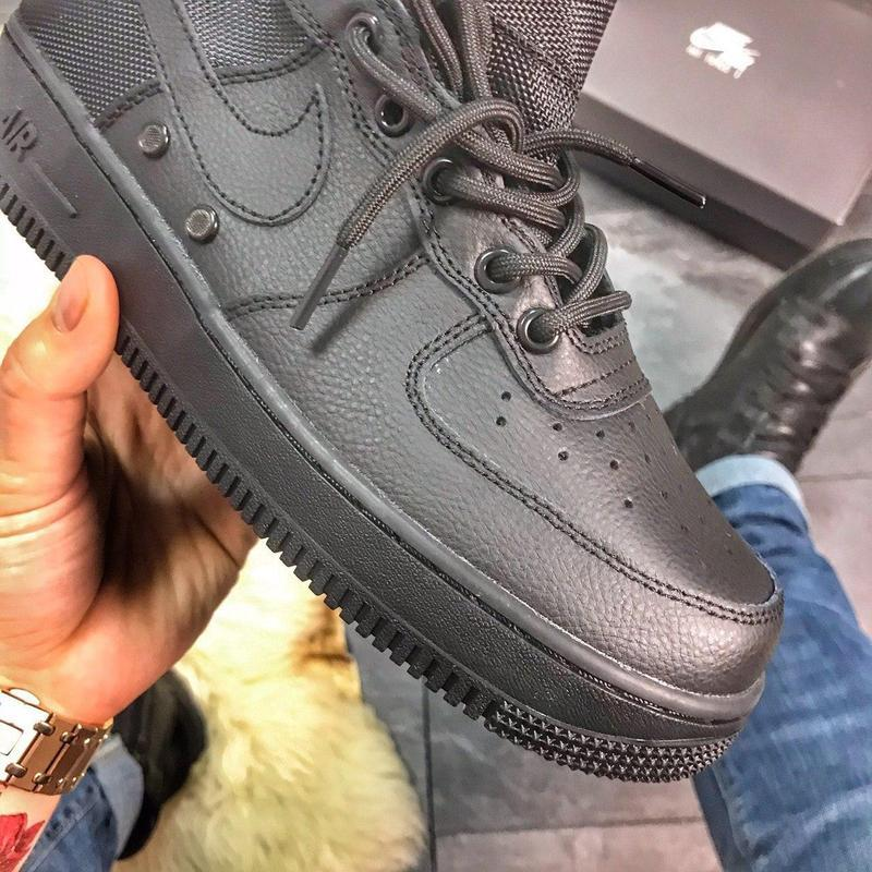 Nike air force special field black. - Фото 5