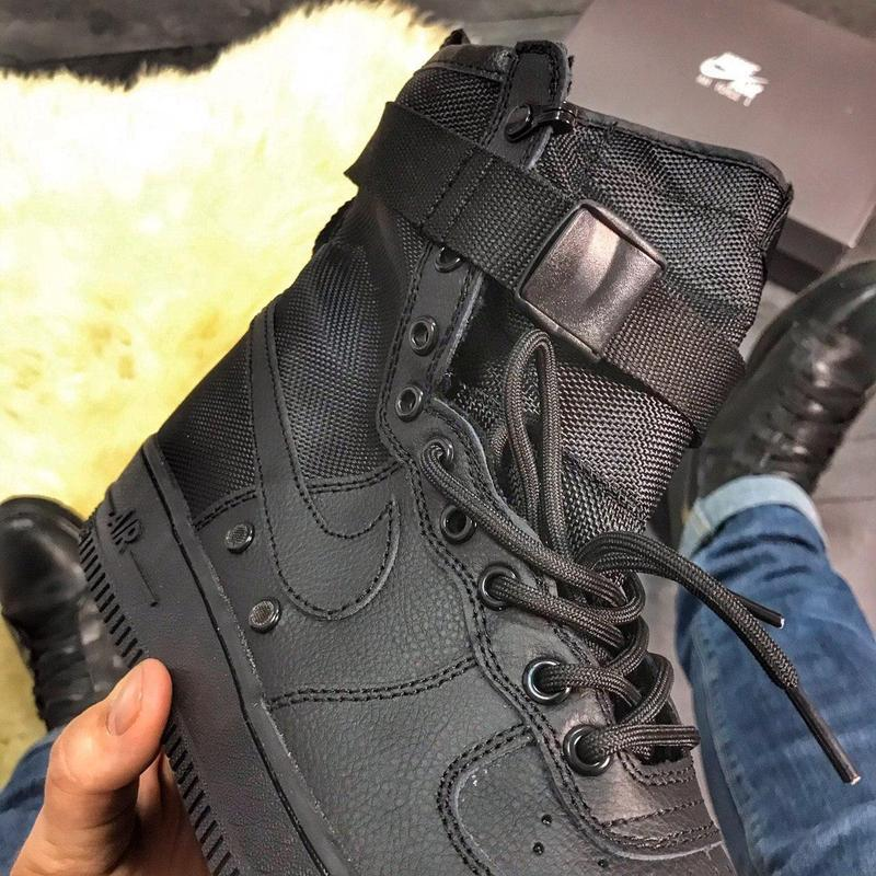 Nike air force special field black. - Фото 6