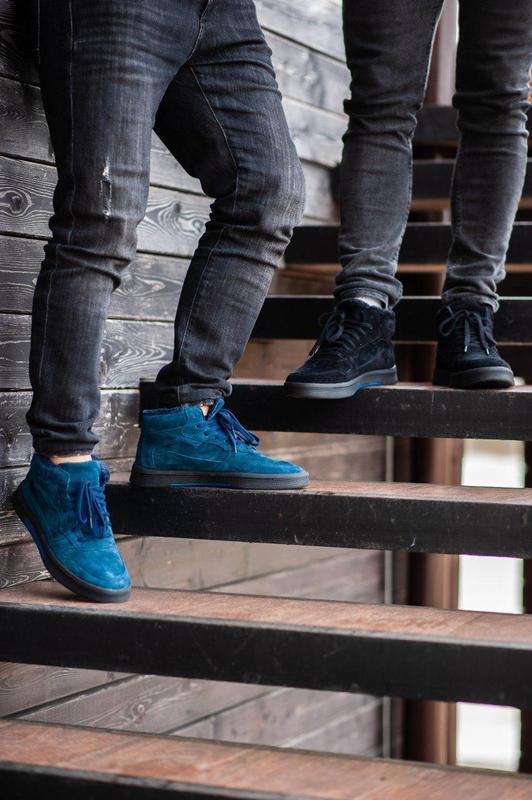 Ботинки south oriole blue (зима) - Фото 2