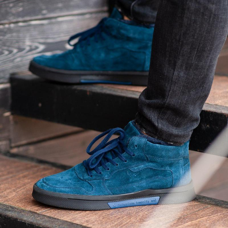 Ботинки south oriole blue (зима) - Фото 3