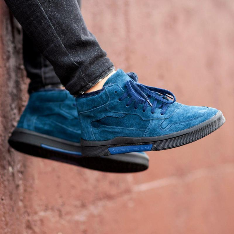Ботинки south oriole blue (зима) - Фото 4