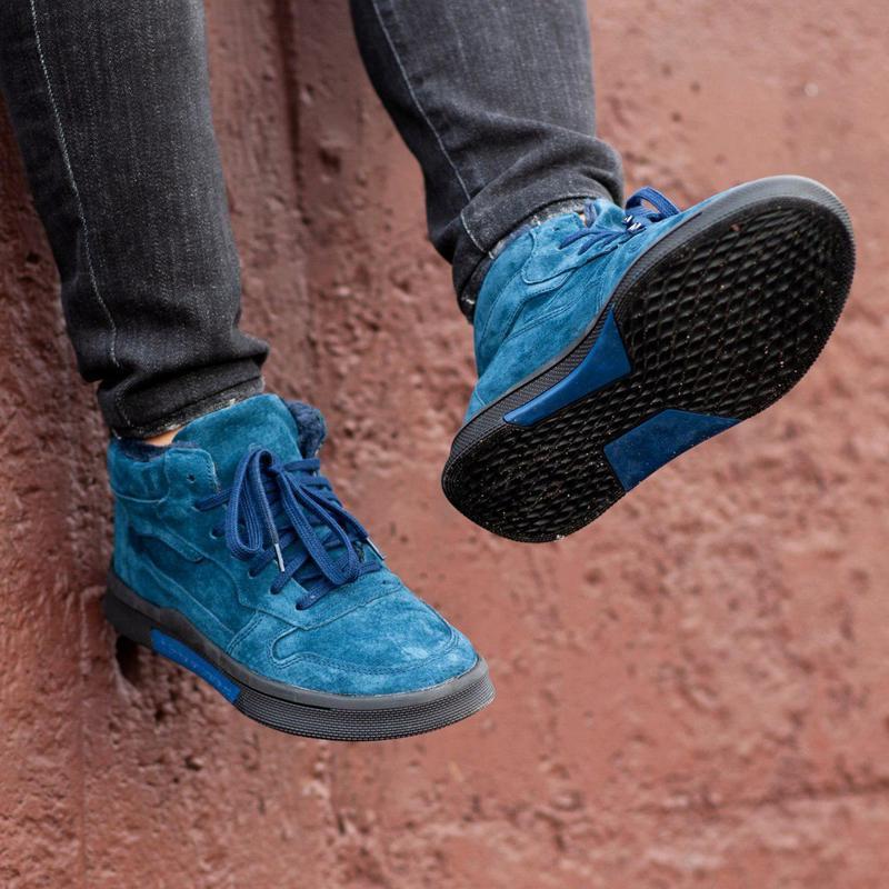 Ботинки south oriole blue (зима) - Фото 5