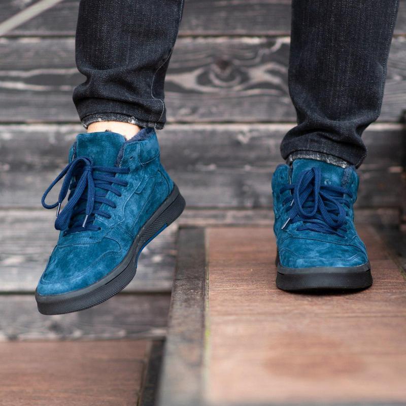Ботинки south oriole blue (зима) - Фото 6