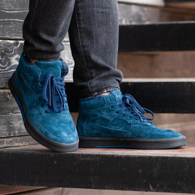 Ботинки south oriole blue (зима) - Фото 7
