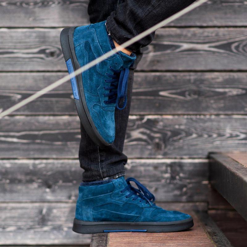 Ботинки south oriole blue (зима) - Фото 8