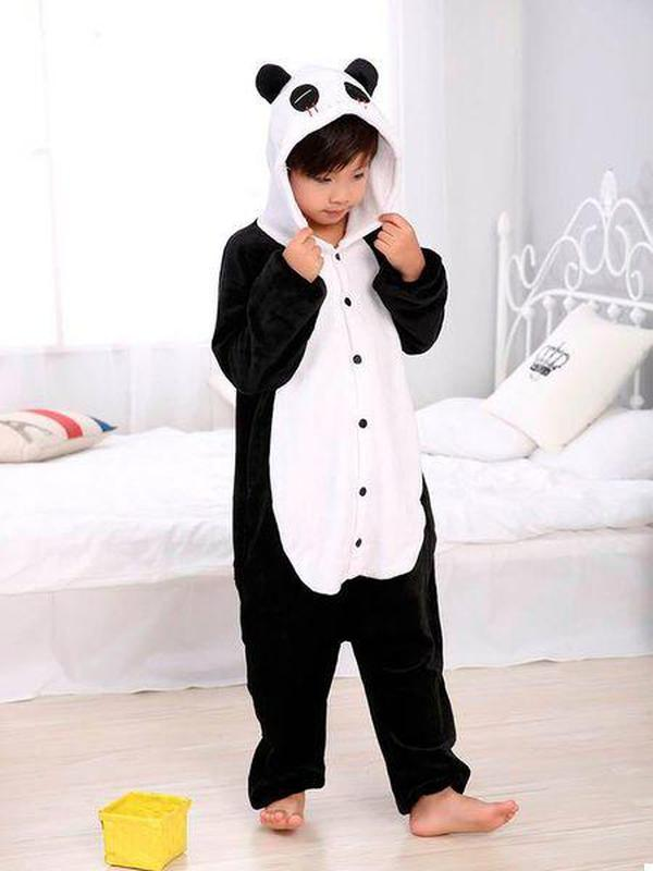 Детская пижама кигуруми Панда 110 см