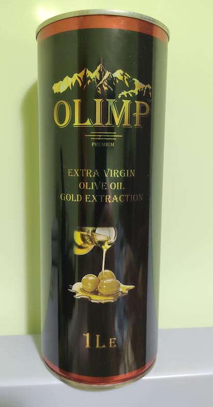 "Олія Оливкова Масло Оливковое Extra Virgin Olive Oil""OLIMP"""