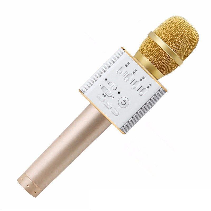 Микрофон Q9 портативный караоке с динамиком