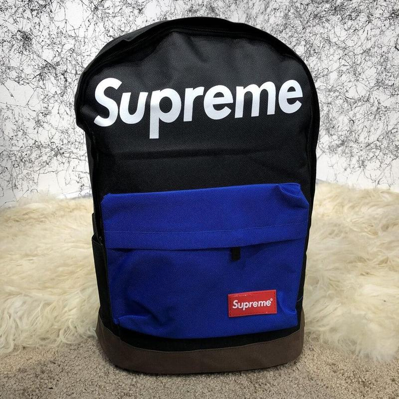 Рюкак  Supreme Backpack Combat Black/Blue