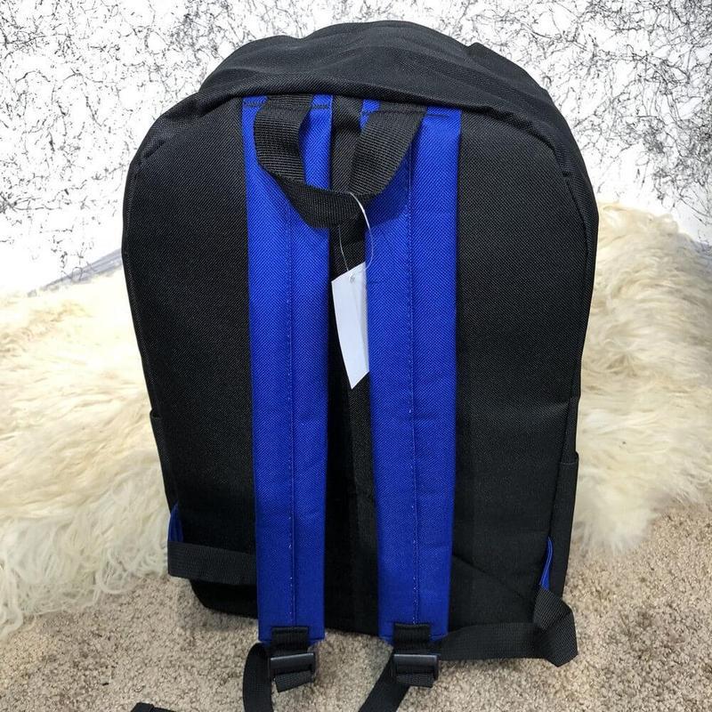 Рюкак  Supreme Backpack Combat Black/Blue - Фото 2