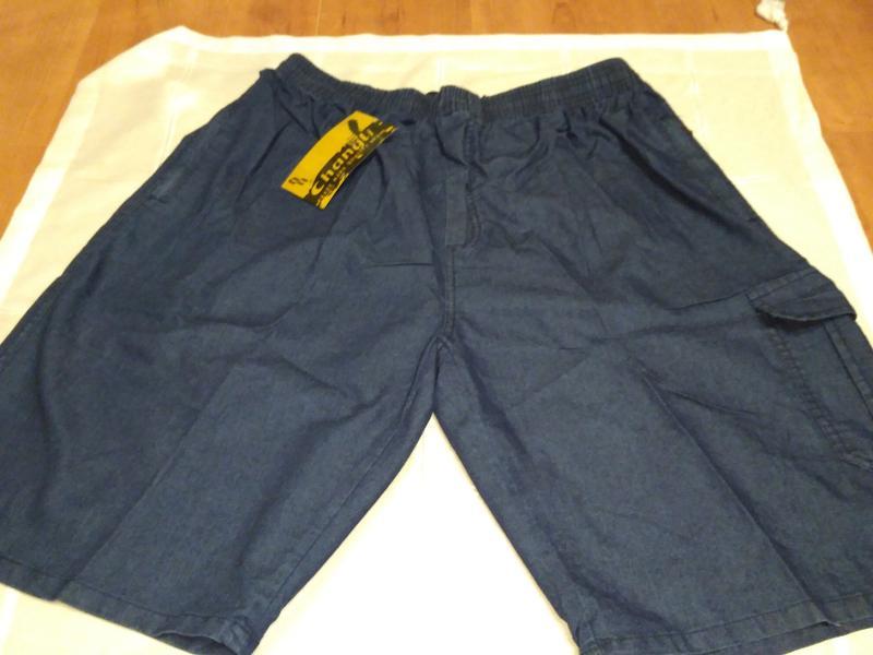 Мужские джинсовые шорты 54 размер.